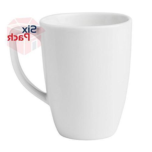 corelle coffee mug winter frost white set