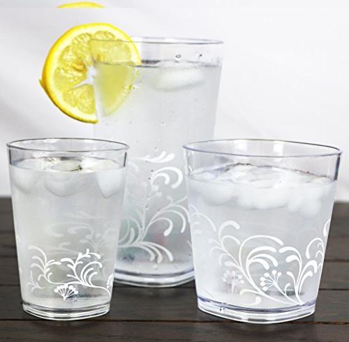 Corelle Lloyd Juice Glasses, Set