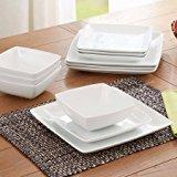 coupe square dinnerware set