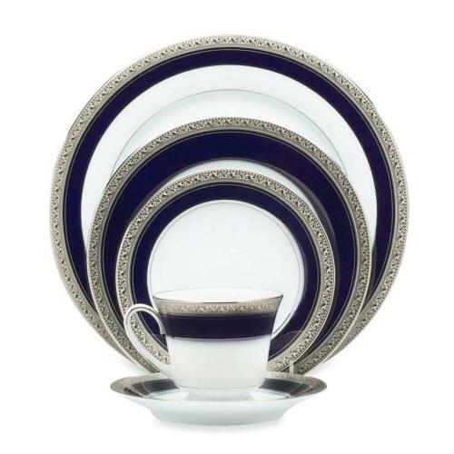 crestwood cobalt platinum saucer
