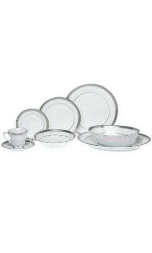 Noritake Platinum 50 pc Dinnerware Set Protective System