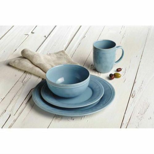 cucina dinnerware 16 piece stoneware dinnerware set