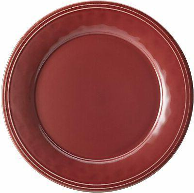 Rachael Cucina 16Piece Dinnerware Cranberry