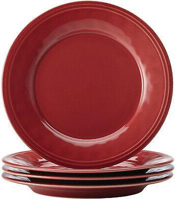 Rachael Ray 16Piece Dinnerware Cranberry Red