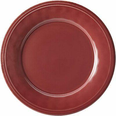 Rachael 16Piece Cranberry Red