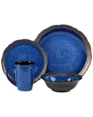 cuisinart stoneware jenna blue collection
