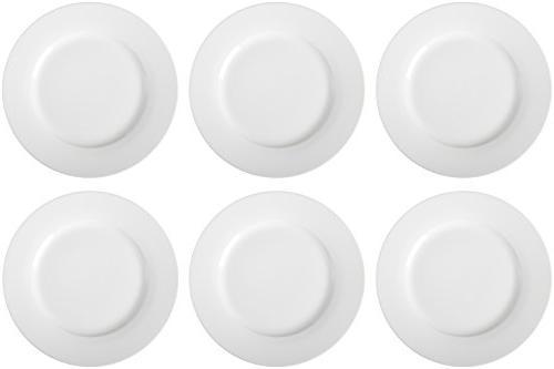 AmazonBasics 6-Piece Plate Set