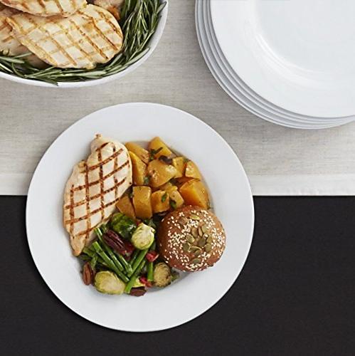 AmazonBasics Dinner Plate Set