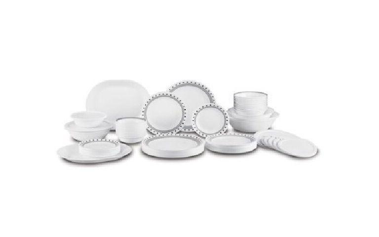 Corelle Dinner Plates Sets Kitchen Tableware Livingware 74 P