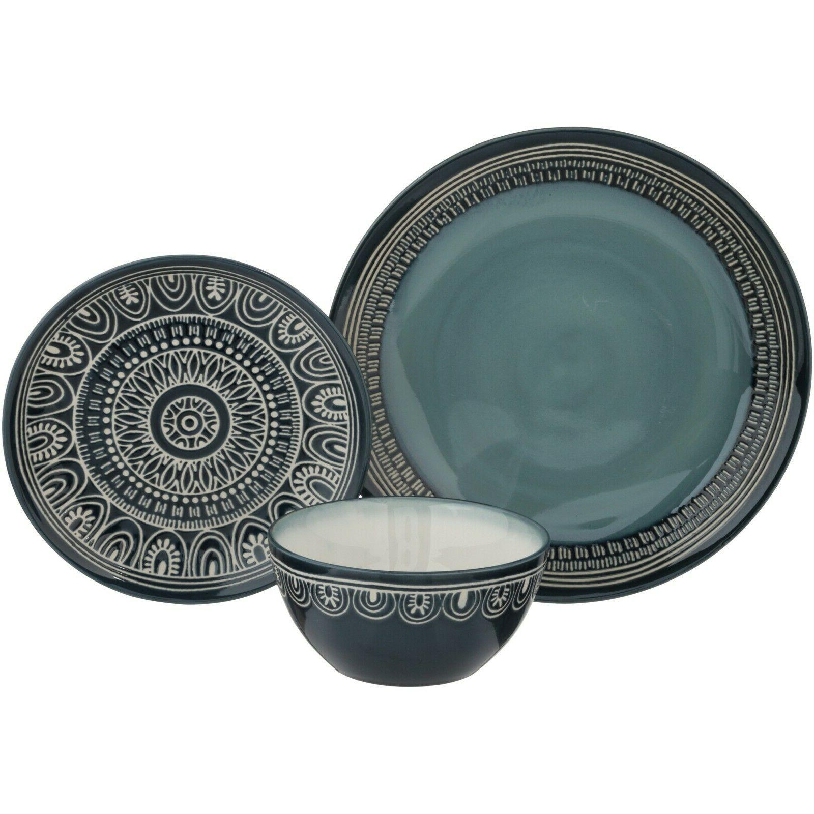 Dinnerware Gardens Medallion Set