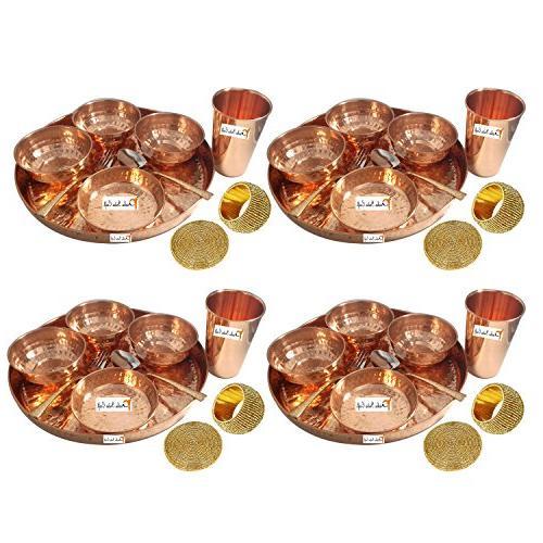 dinnerware copper thali set dia