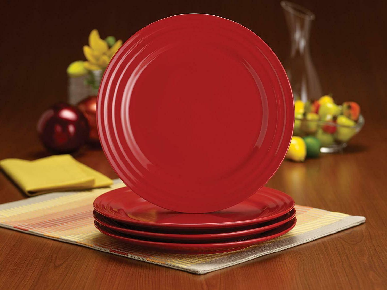 Rachael Ridge 4-Piece Plate Set