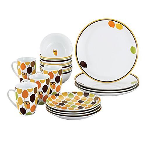 dinnerware little hoot set