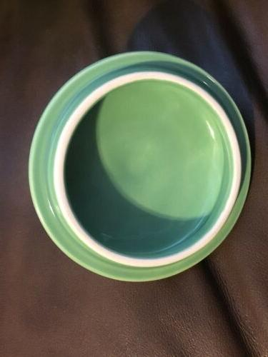 Oneida Dinnerware Covered Sugar And Willow Green New In Box