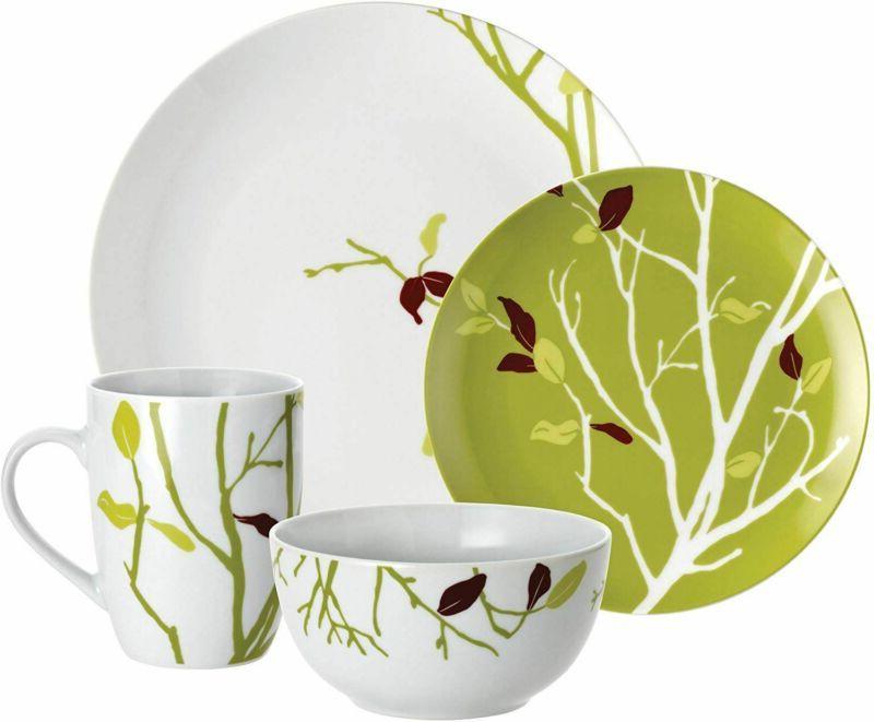 dinnerware seasons changing 16 piece porcelain dinnerware