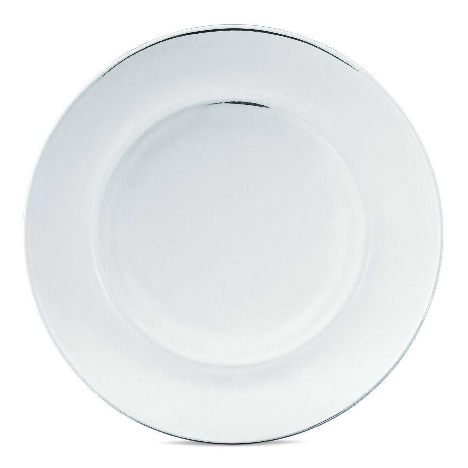 Dinnerware 12 Modern Glass Plates Bowls Dishes