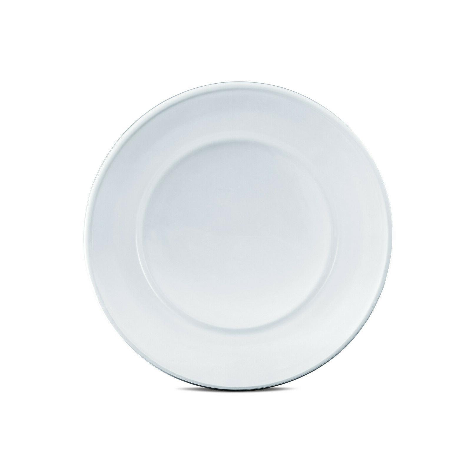 Dinnerware Set 12 Modern Round Clear Dishes