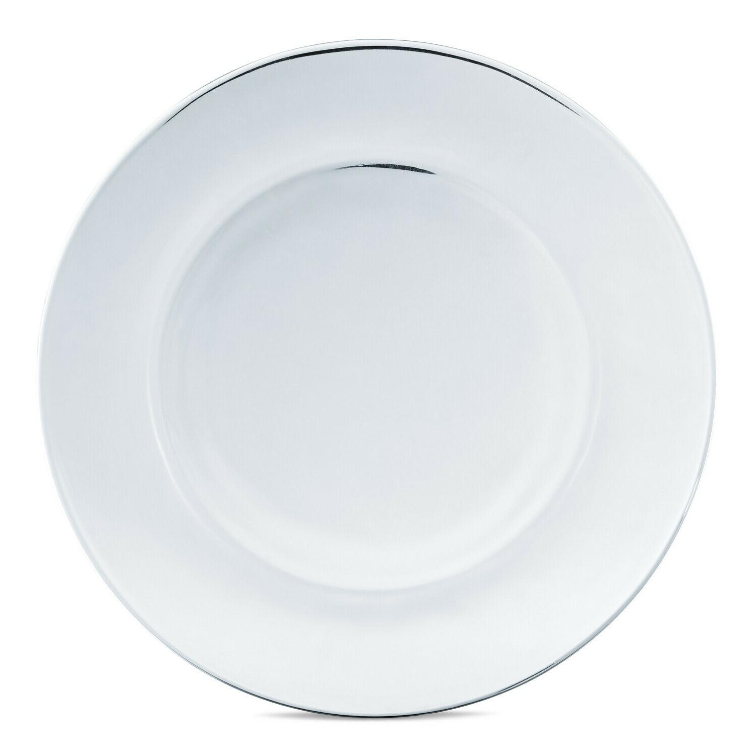 Dinnerware Modern Round Thick Glass Plates Bowls Dishes