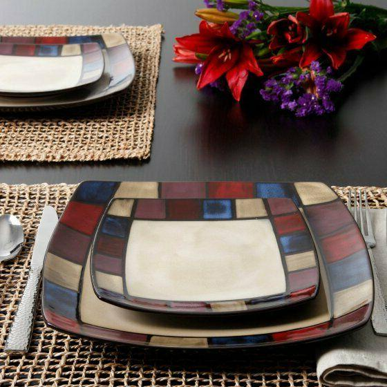 Dinnerware Dinner Square Bowls