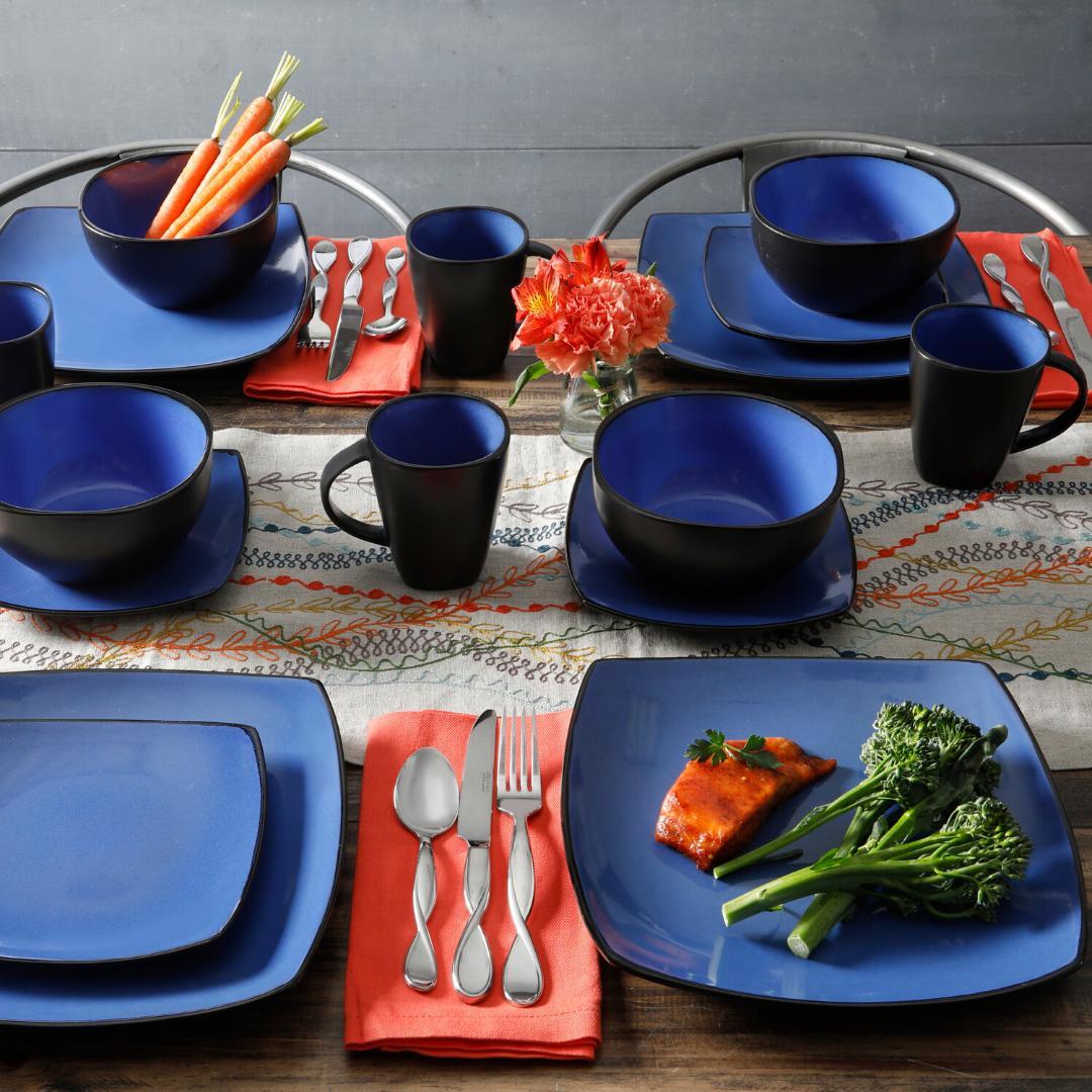 DINNERWARE Bowls Mugs Dishes Square