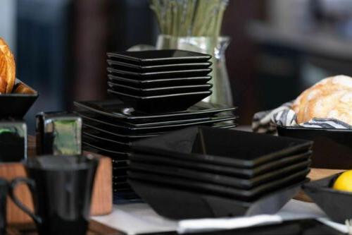 Dinnerware Set Kitchen Banquet 45 Dinner Plates Cups