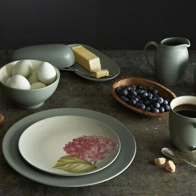 Dinnerware Set Matte-Textured and Microwave Rim
