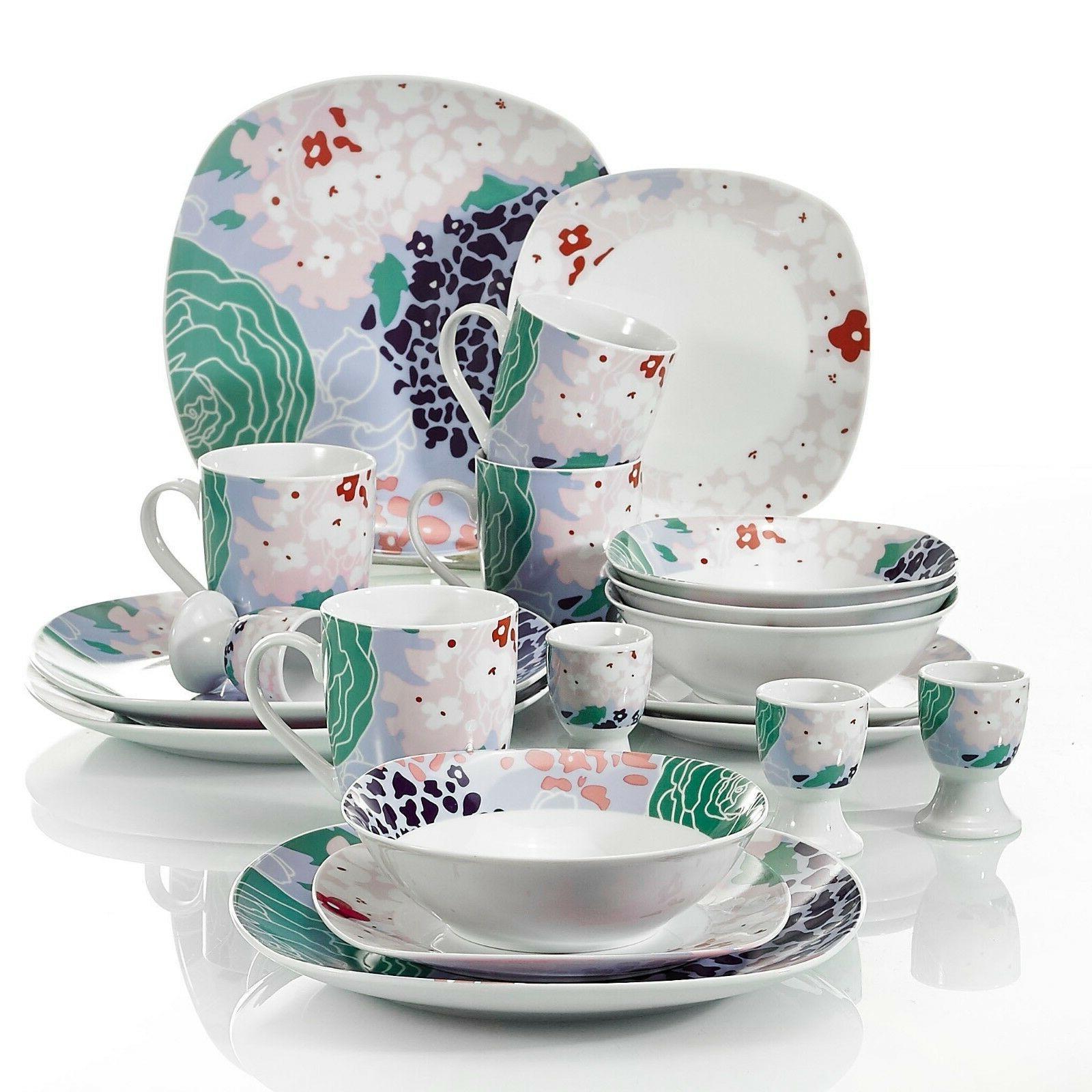 VEWEET color Patterns Plate Sets