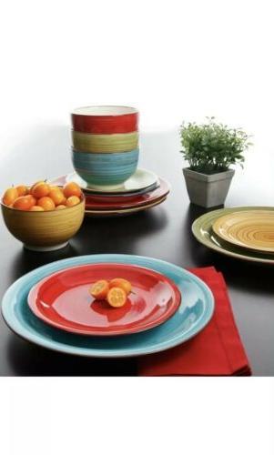 dinnerware set piece plates kitchen dishes dinner