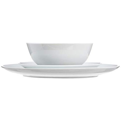 AmazonBasics 18-Piece - Porcelain Service 6