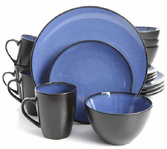 Dinnerware Plates Mugs Dishes Home Blue
