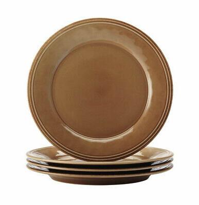 RACHAEL RAY Set Stoneware, Microwave/Freezer Safe, Brown