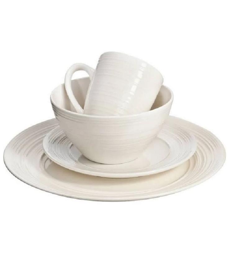 dinnerware set thomson pottery ripple 16 pc