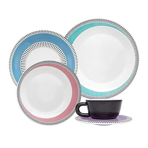 dots collection moon dinnerware set