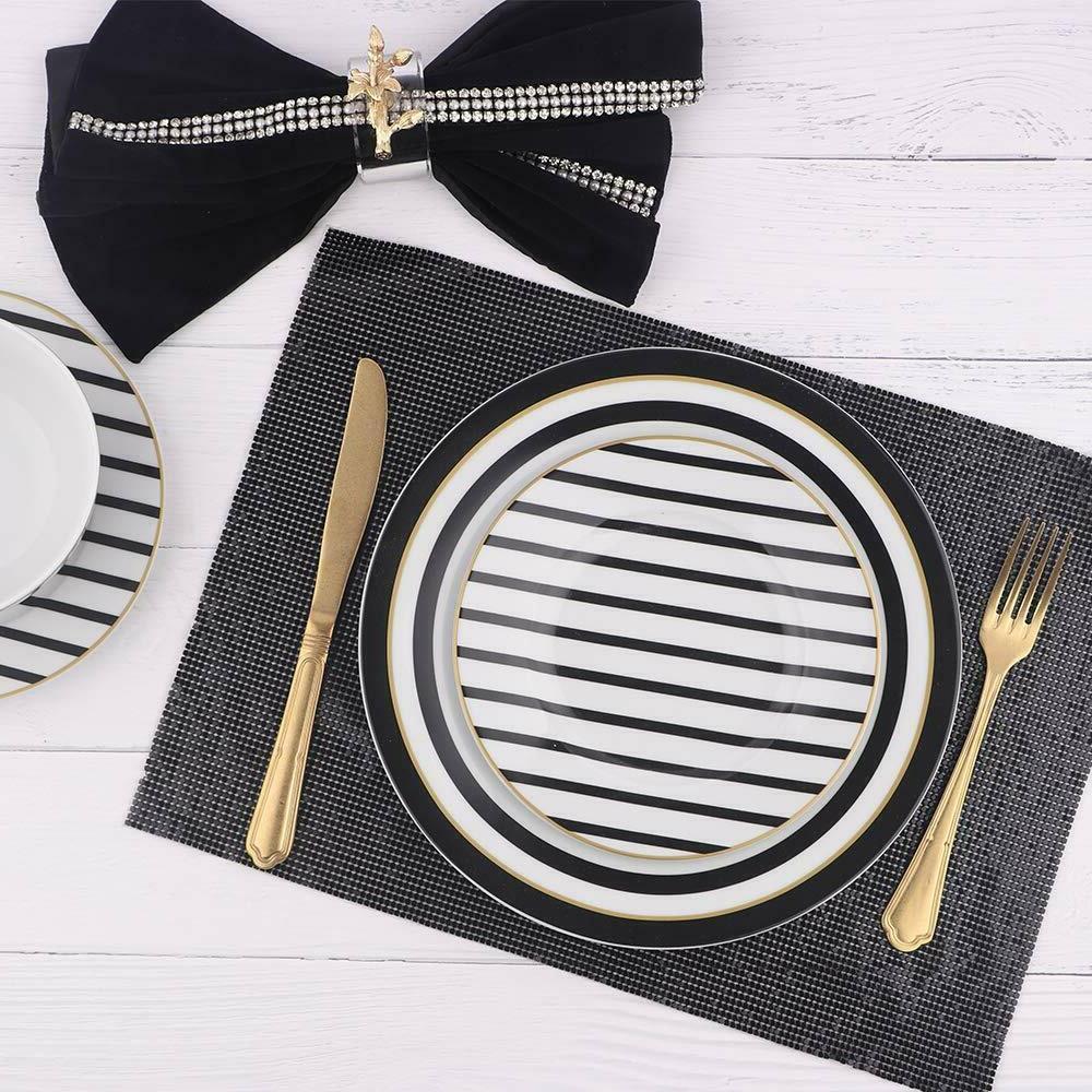 18-Piece Dinnerware - Modern Elegance, Service 6