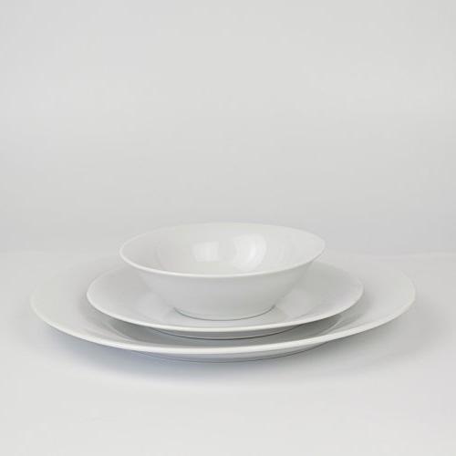 Winnsoma Porcelain Dinnerware For 6. Set With 6