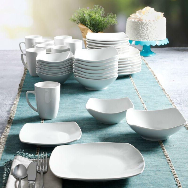 Gibson Home Expanded 40-Piece Place Setting