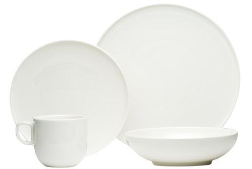 everytime white dinnerware set