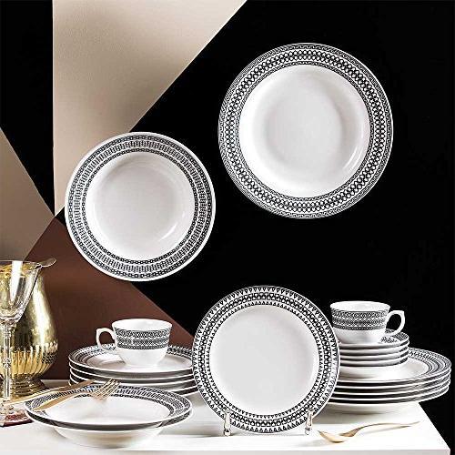 Oxford Piece Dinnerware White