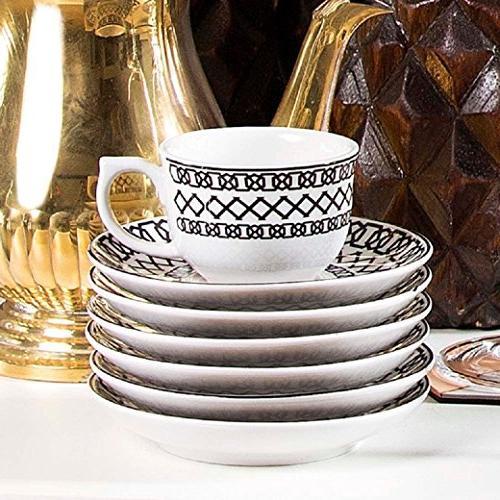Oxford Flamingo 42 Piece Porcelain Set, White