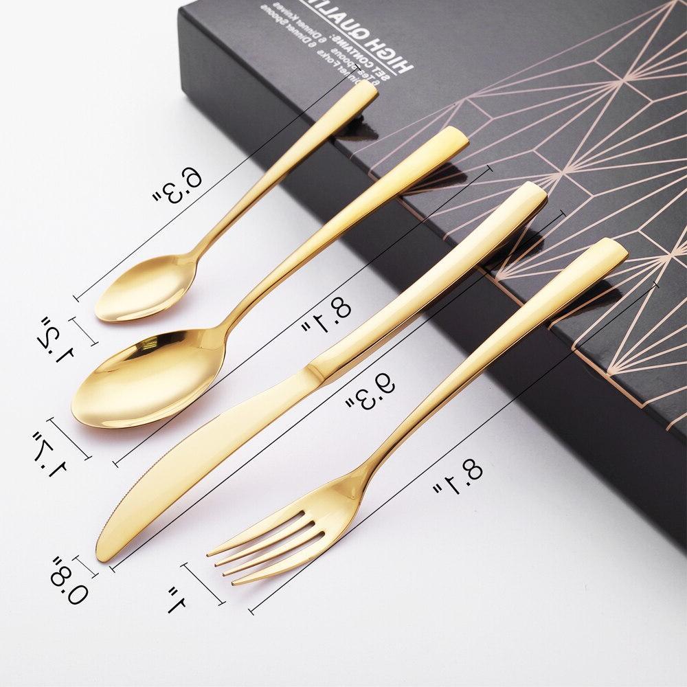 <font><b>16</b></font> Cutlery <font><b>Set</b></font> <font><b>Set</b></font> Polishing Stainless Steel Gift