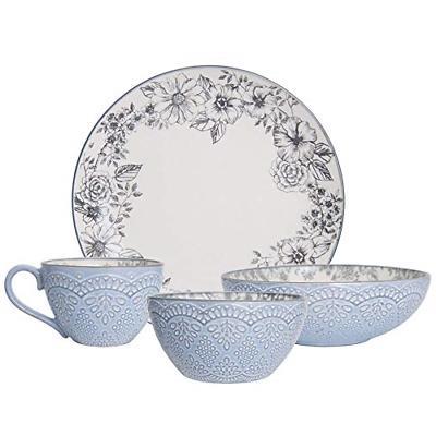 gabriela gray stoneware dinnerware set
