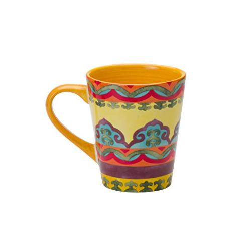 Euro Andalusian-Inspired Dinnerware Set, Assorted Patterns, Multicolor