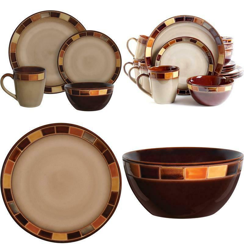 gibson casa estebana 16 piece dinnerware set