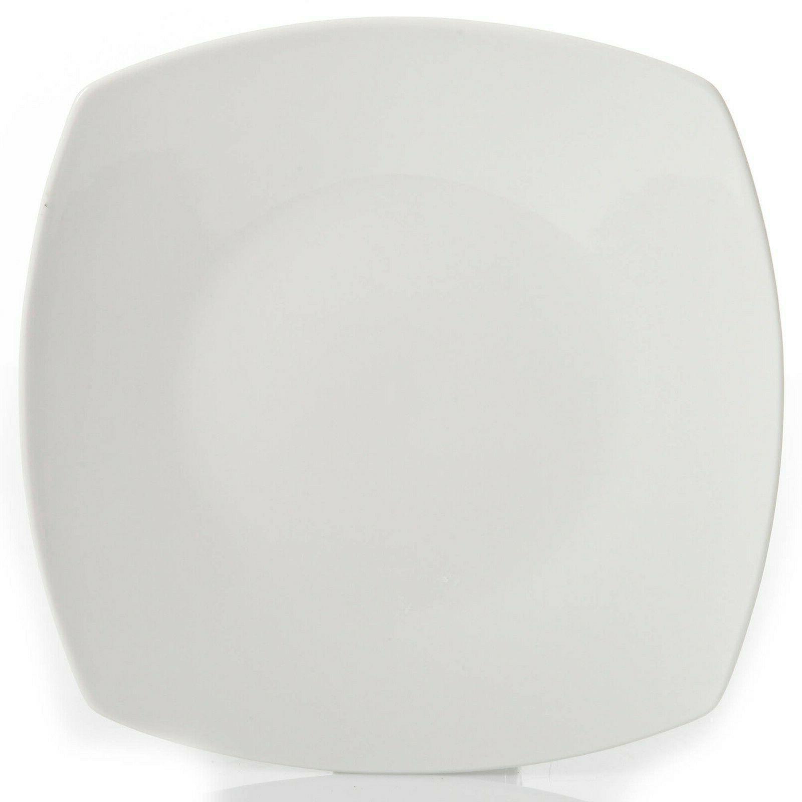 12-Piece Dinner Bowls Ceramic Dishes