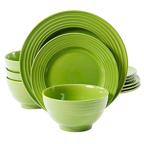 gibson plaza cafe dinnerware set