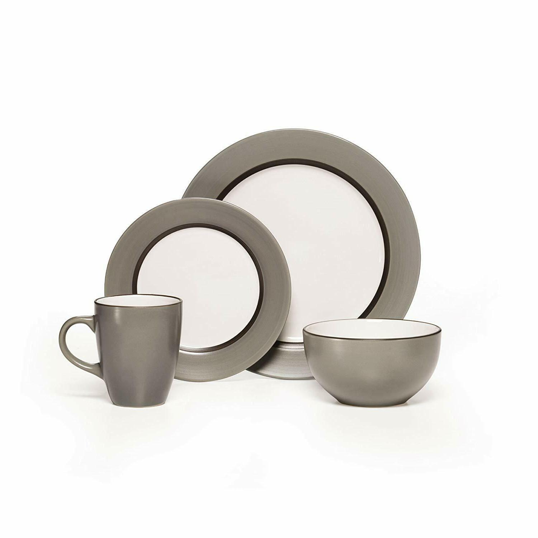 grayson 16 piece stoneware dinnerware set service