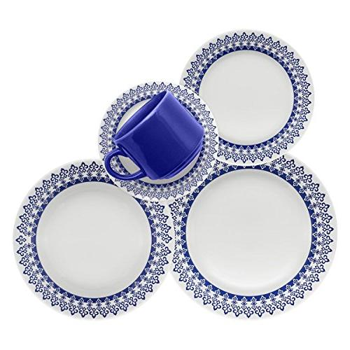 greece collection donna dinnerware set