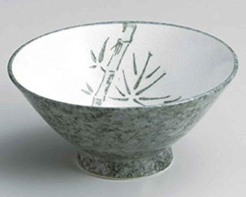 green bamboo ramen porcelain made