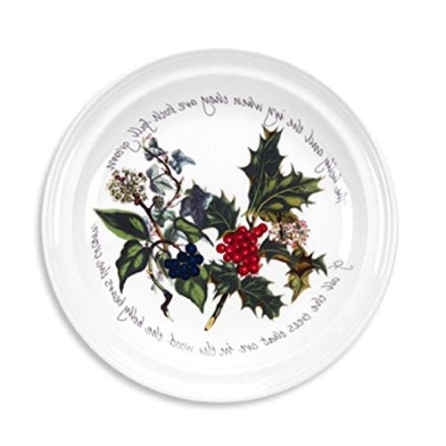 holly ivy dinner plates