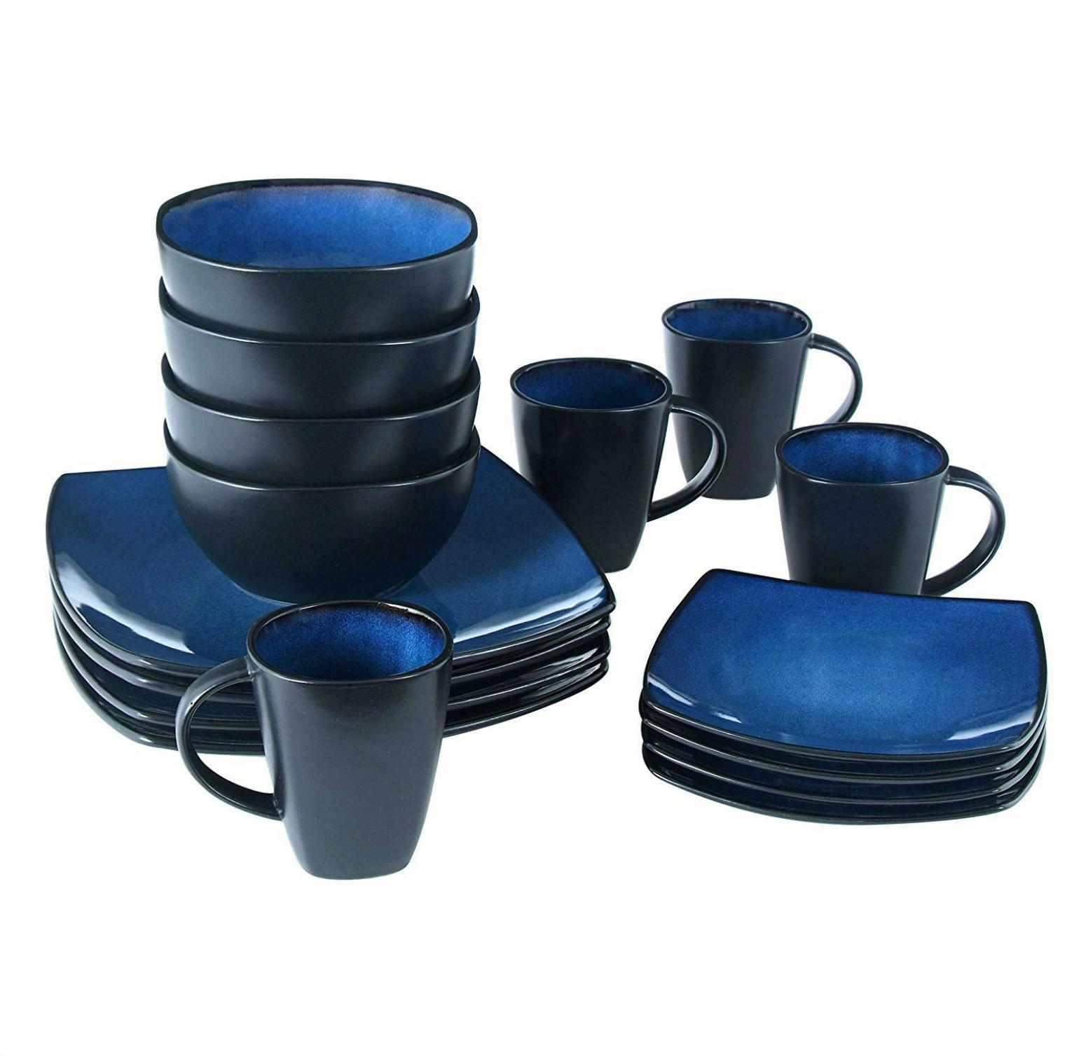Gibson Home 16 Piece Dinnerware Set Dishes Kitchen Home Food